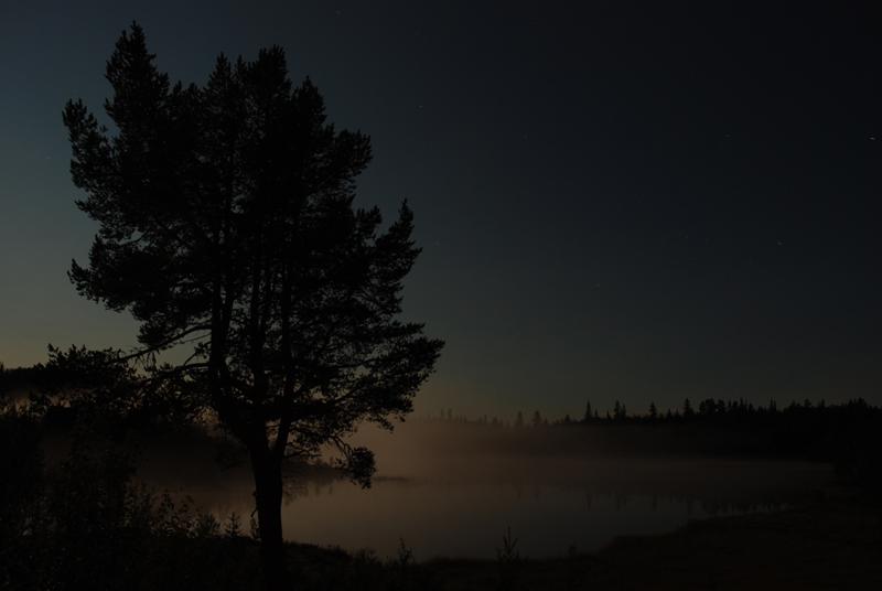 Natt på Trytetjenn