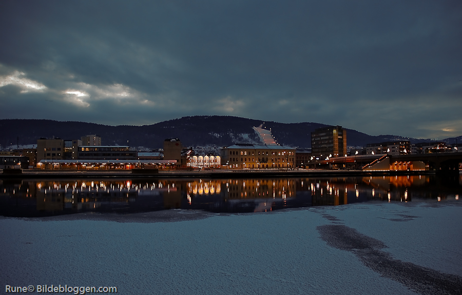 eveningindrammen