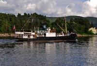 D/S Børøysund i Svelviksundet - 2011