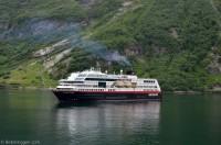 M/S Trollfjord - Geiranger 2013