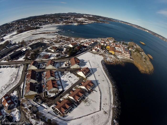 Risøya Stavern - Larviksfjorden - Dji Phantom - GoPro - Flyfoto