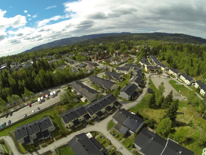 Konnerud - Djupdalen - Drammen - Flyfoto - Dji Phantom