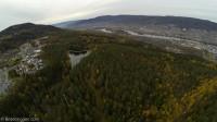 Drammen sett fra Konnerud oktober 2013