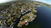 Nevlunghavn - Flyfoto - Vestfold