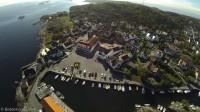 Nevlunghavn - Flyfoto - Havna