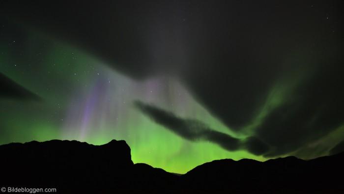 Nordlys - Aurora Borealis - Morgenrøden i nord