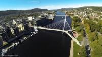 Ypsilon Drammen Flyfoto